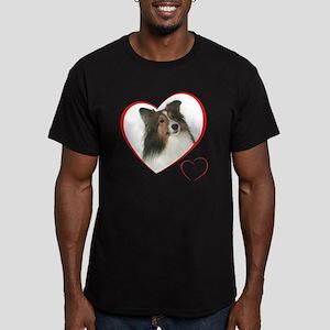 DuncanLovePlain Men's Fitted T-Shirt (dark)
