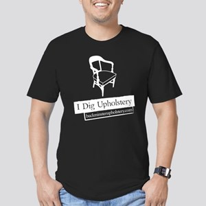 """Men's Fitted T-Shirt: I Dig Upholstery """"The C"""