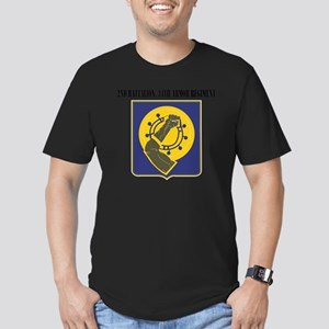 2nd Battalion, 34th Ar Men's Fitted T-Shirt (dark)