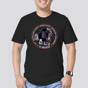 Panther v2_1st-505th - Men's Fitted T-Shirt (dark)