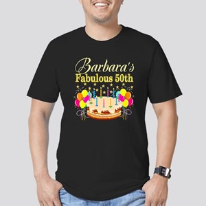 FUN 50TH BIRTHDAY Men's Fitted T-Shirt (dark)