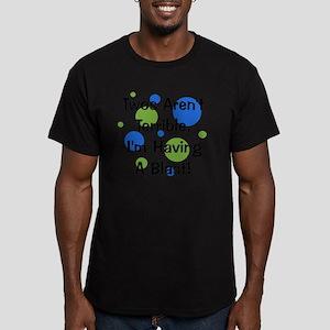 circles_twosarentterri Men's Fitted T-Shirt (dark)