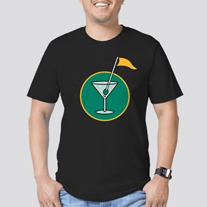 19th Hole Men's Fitted T-Shirt (dark)