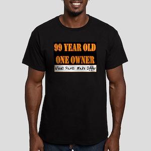 99th Birthday Men's Fitted T-Shirt (dark)