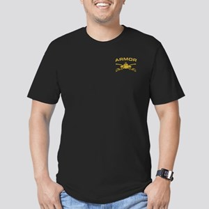 Armor Branch Insignia Men's Fitted T-Shirt (dark)
