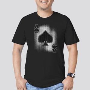 The Ace of Spades Men's Fitted T-Shirt (dark)