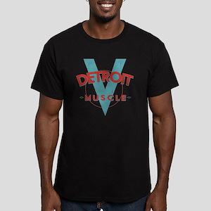 Detroit Muscle Men's Fitted T-Shirt (dark)