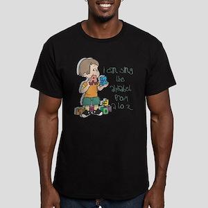 Singing My ABC's Men's Fitted T-Shirt (dark)