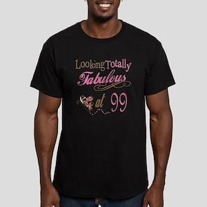 Fabulous 99th Men's Fitted T-Shirt (dark)