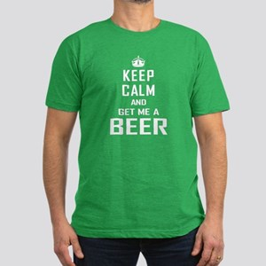 Get Me a Beer Men's Fitted T-Shirt (dark)