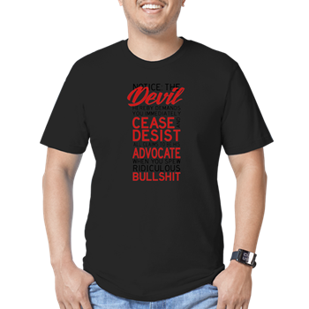 Devils advocate cease and desist t shirt devils advocate cease devils advocate cease and desist t shirt thecheapjerseys Image collections