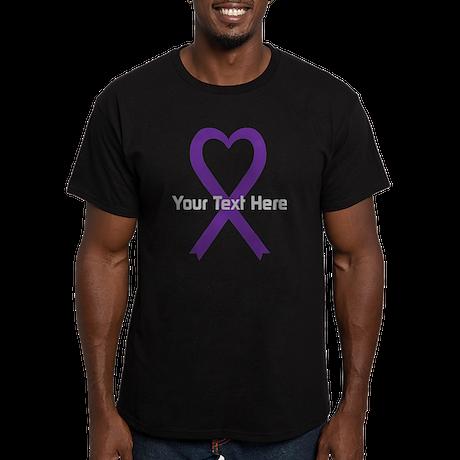 Personalized Purple Ri Men's Fitted T-Shirt (dark)