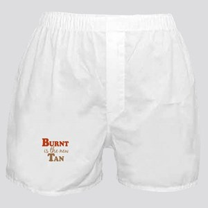 Burnt is the new Tan Boxer Shorts