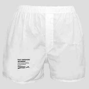 Awkward moment swimming Boxer Shorts