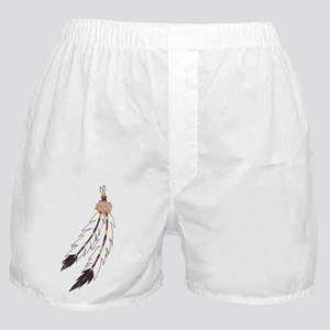 Feather Boxer Shorts