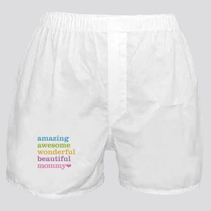 Mommy - Amazing Awesome Boxer Shorts