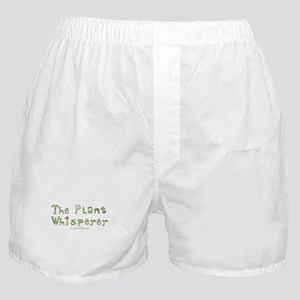 The Plant Whisperer Boxer Shorts