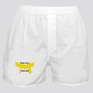 Proud to be a Yellow Belt Boxer Shorts