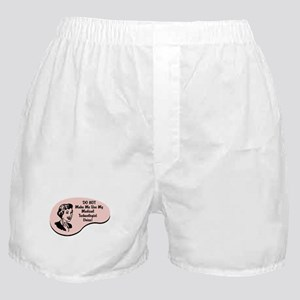 Medical Technologist Voice Boxer Shorts