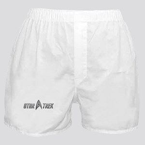 Star Trek light silver Boxer Shorts
