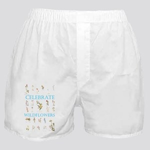 Celebrate Wildflowers Boxer Shorts