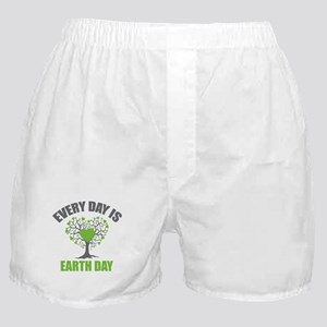 Every Day Earth Day Boxer Shorts