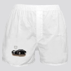 Viper Black/White Car Boxer Shorts