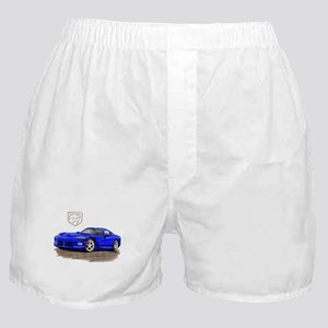 Viper Blue Car Boxer Shorts
