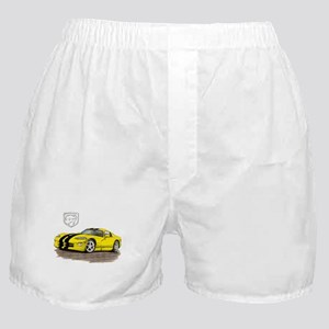 Viper Yellow/Black Car Boxer Shorts