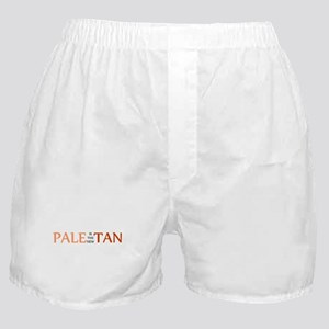 PALE IS THE NEW TAN SHIRT BUM Boxer Shorts