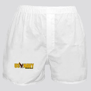 Navy Uncle Boxer Shorts