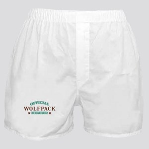 Official Wolfpack Member Boxer Shorts