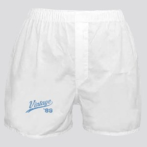 1989 Vintage Birth year Boxer Shorts