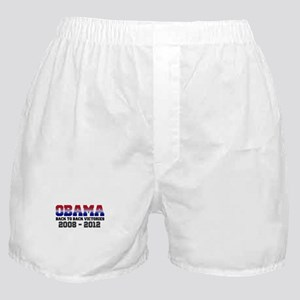 Obama Back to Back Victory Boxer Shorts
