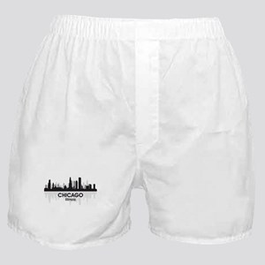 Chicago Skyline Boxer Shorts