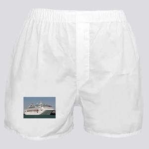 Dawn Princess Cruise Ship Boxer Shorts