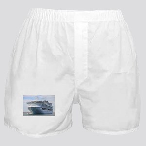Cruise ship 13: Diamond Princess Boxer Shorts