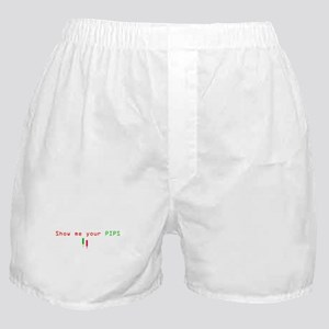 Funny PIPS ForEX CENTER Boxer Shorts