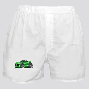 Viper Roadster Green Car Boxer Shorts