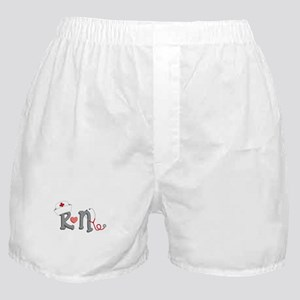 Registered Nurse Boxer Shorts