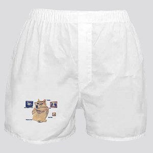 Hipster Doge Hipster things Boxer Shorts