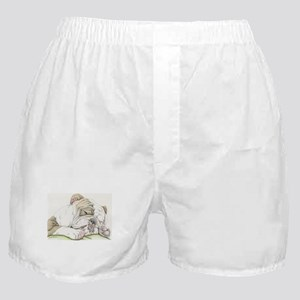 Sleepy English Bulldog Boxer Shorts
