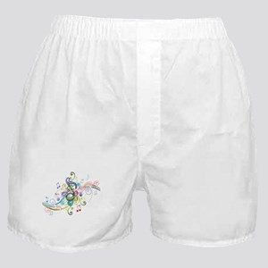 Music in the air Boxer Shorts