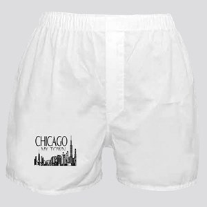 Chicago My Town Boxer Shorts