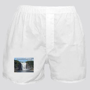 Montmorency Falls at Large Boxer Shorts