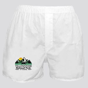 YELLOWSTONE NATIONAL PARK WYOMING MOU Boxer Shorts