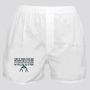Living Crap Boxer Shorts