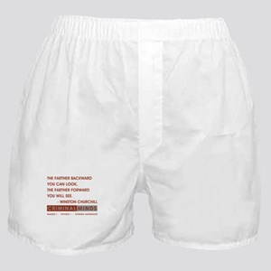 THE FARTHER BACK... Boxer Shorts