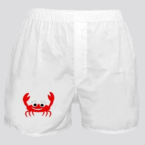 Crab Design Boxer Shorts