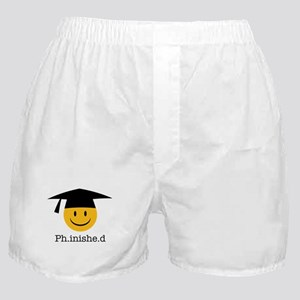 phd smiley Boxer Shorts